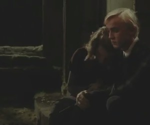 hermione, malfoy, and draco image