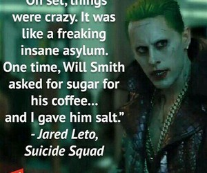 jared leto, will smith, and suicide squad image