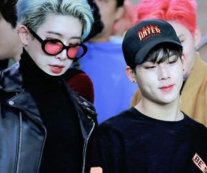 jooheon, monsta x, and wonho image