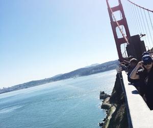 awesome, bridge, and blue image