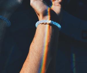 rainbow, boy, and couple image