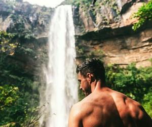 man, model, and paradise image