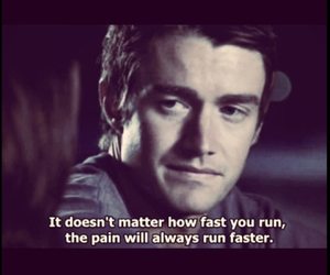 quote, hurt, and one tree hill image