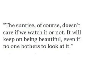 quote, beautiful, and sunrise image