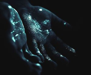 hands, blue, and aesthetic image