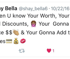 twitter, $$, and know your worth image