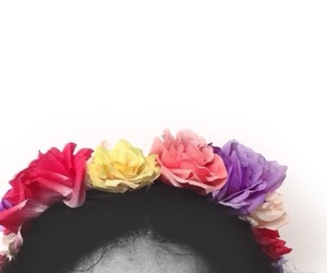 colors, flowers, and frida kahlo image