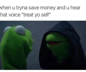 funny, kermit, and meme image
