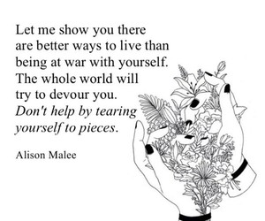 quote, wow, and alison malee image