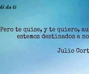 frases, julio cortazar, and destino image