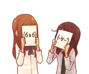 anime, kawaii, and friends image