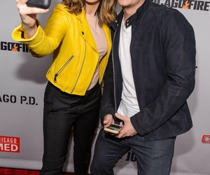 sophia bush, linstead, and chicago pd image