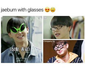 derp, funny, and glasses image