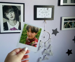 jin, bts, and foreveryoung image