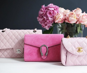 chanel, glamour, and roses image