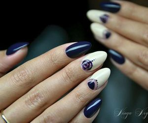 hybrid, nailart, and indigo image