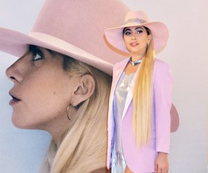 hat, Lady gaga, and pink image