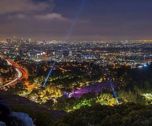 hollywood, los angeles, and hollywood bowl image