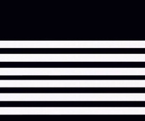 black and white, overlay, and stripes image