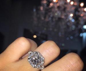 fashion, diamond, and ring image