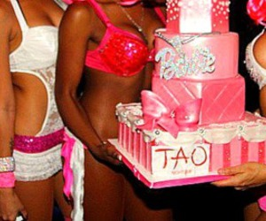 barbie, cake, and girls image