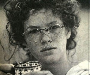 b&w, beauty, and cup image