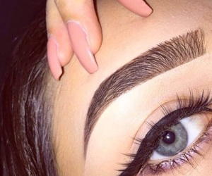 beauty, eyebrows, and brows image