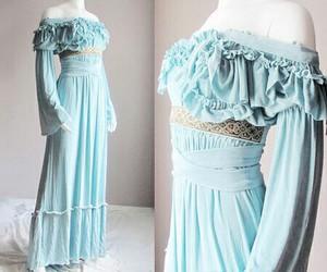 dress, medieval, and renaissance image