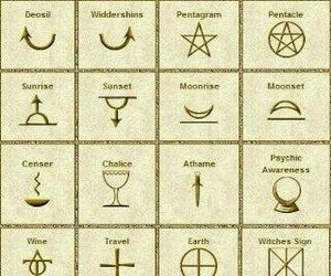 symbol and wicca image