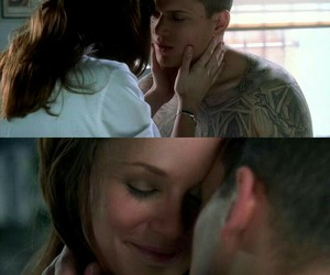 sara tancredi, prison break, and wentworth miller image