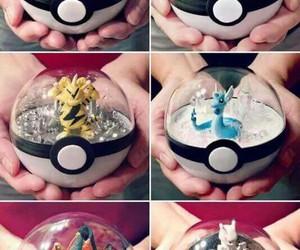 eevee, pokemon, and poke balls image