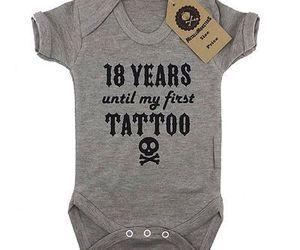 onesie, Tattoos, and unisex image