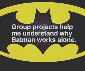 batman, funny, and quote image