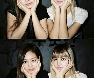 bff, blonde girl, and kpop image