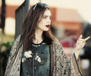 style, tumblr girl, and lily collins image