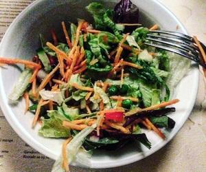 MM, restaurant, and salad image