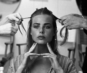 model, vintage, and margaux hemingway image