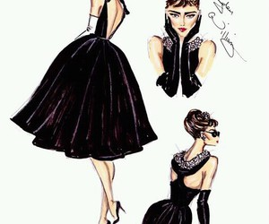 audrey hepburn, hayden williams, and black image