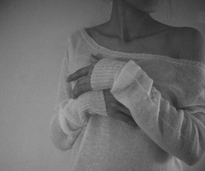 skinny, thin, and collarbones image