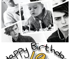 happy birthday, model, and pale boy image