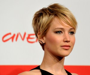 pixie cut and jlaw image
