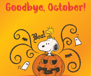snoopy, Halloween, and october image