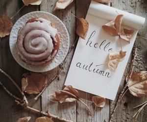 autumn cupcacke leafs image