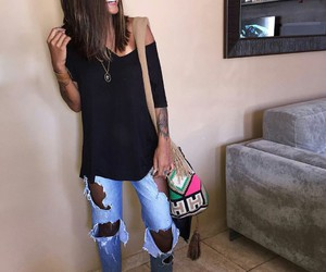 fashion, style, and look image