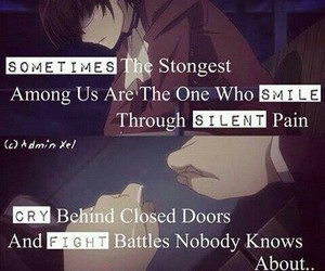 quote and anime image