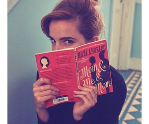 emma watson, book, and actress image