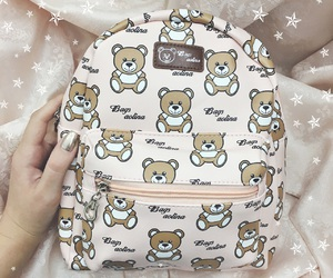 backpack, cute, and bag image