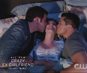 threesome, tv show, and crazy exgirlfriend image