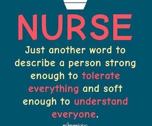 nurse, quote, and nursing image