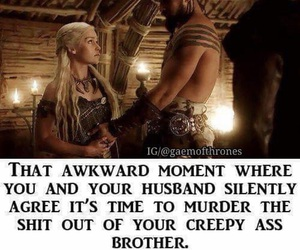 game of thrones, funny, and meme image